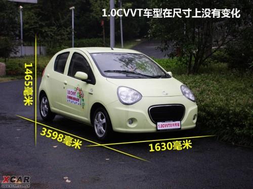 的1.3车型没什么明显变化.车大灯依旧是熊猫标志性的黑眼圈高清图片