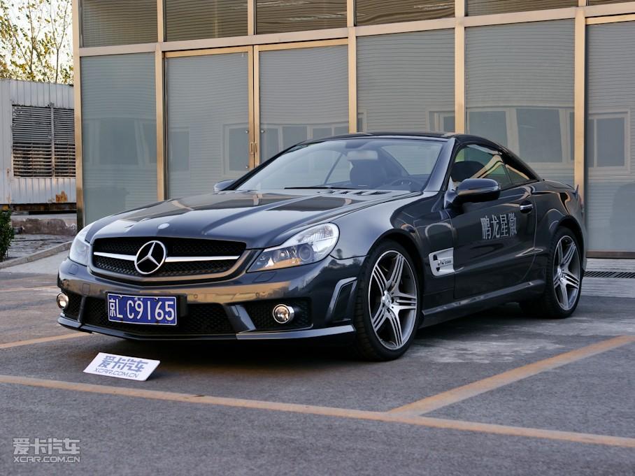 拉风双门跑车奔驰SL300大庆之星优惠8万