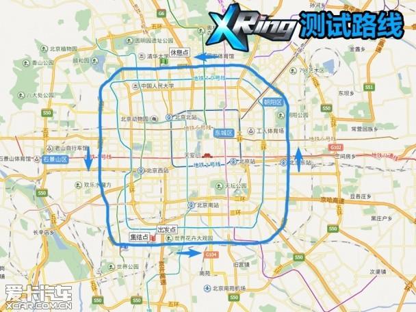 X Ring日间地图
