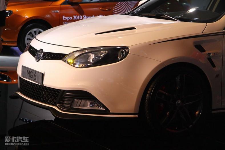 成都车展最新亮相的MG6改装限量版高清图片