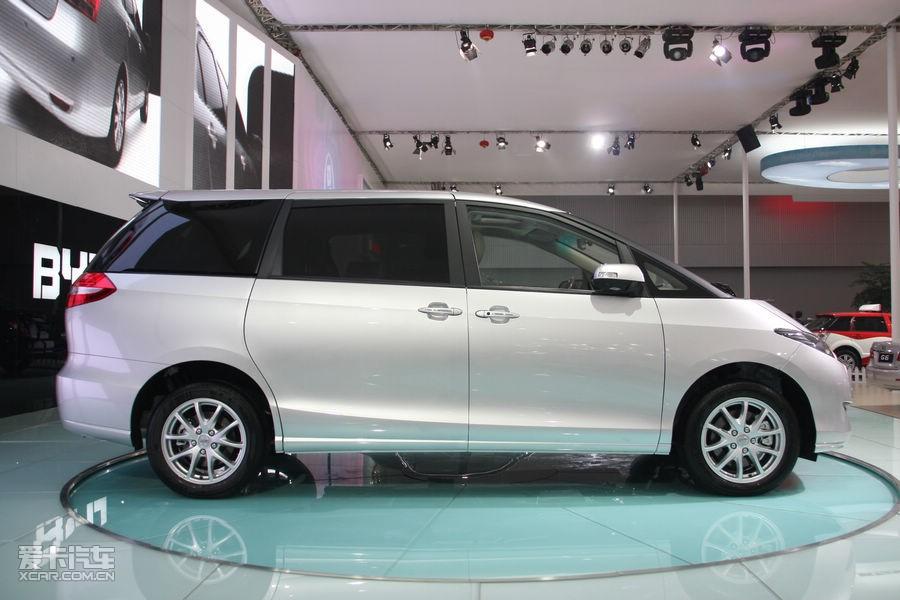 广州车展直击 比亚迪m6尊贵型17.08万起