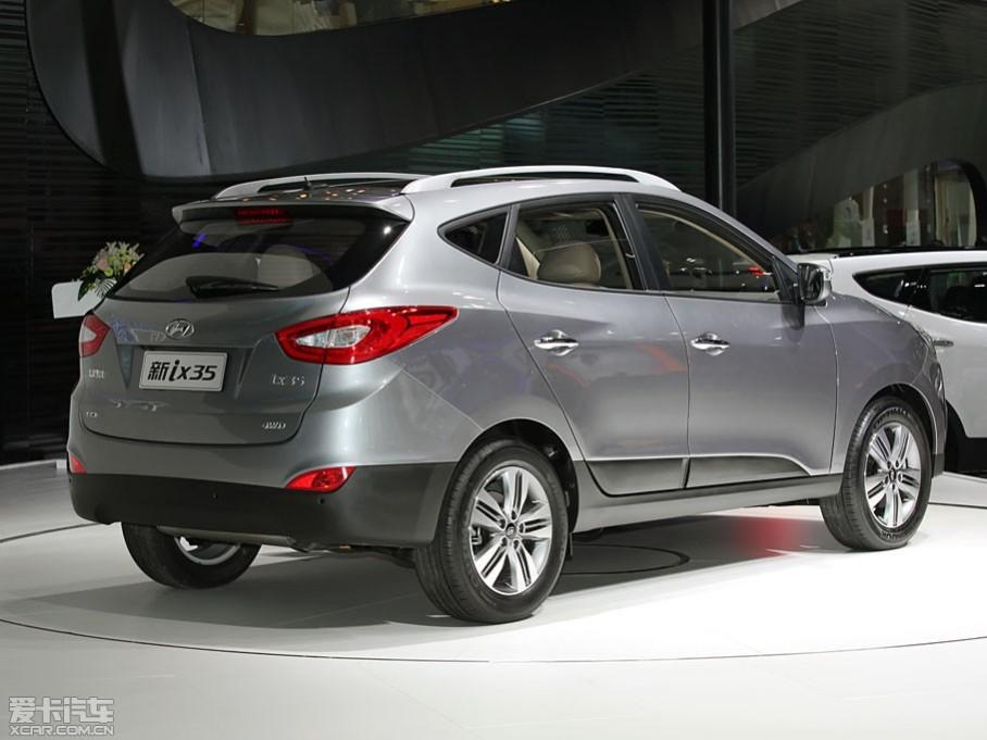0l和2.4l发动机. 北京现代新款ix35 车型 售价(万元).