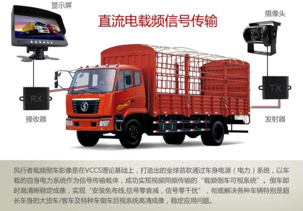 货车专用载频倒车影像