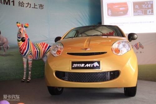 2011款瑞麒M1上市