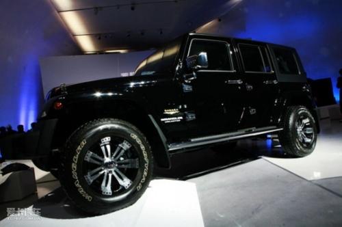 jeep极致之旅启动 2款限量版牧马人发布