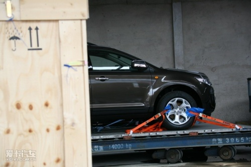 北京车展探秘 福特SUV车型锐界展前曝光高清图片