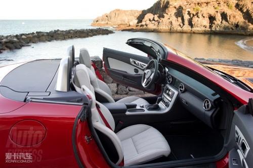 约4.7万美元起 新一代奔驰slk官图发布