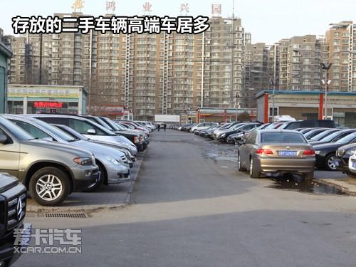 花乡二手车市场